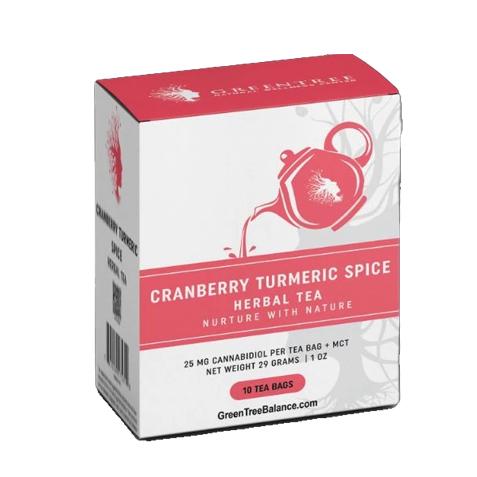 Cranberry Tumeric Tea
