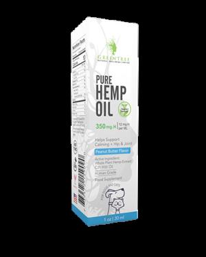 All Natural Hemp Oil | Pet Tinture Drops